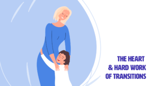 Social Emotional Learning Title Card of Barb Flis embracing a happy kid
